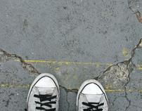 A calçada é cinza (fotos)