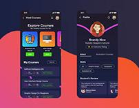 UI Course App Design