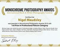 Monochrome Awards 2015