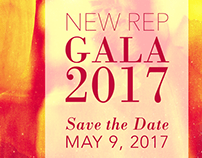 New Repertory Theatre Gala Save the Dates