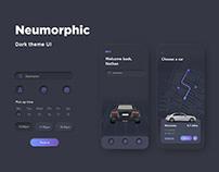 Car rental neumorphic | UI/UX