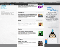 MyTwitter Page Design