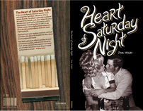The Heart of Saturday Night / book jacket design