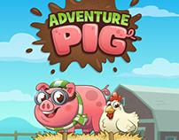 Mobile App - Adventure Pig