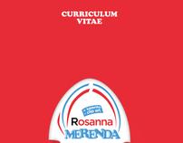 Curriculum Vitae - Infografica