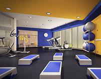 Fitness hall. Aigo hotel. Austria