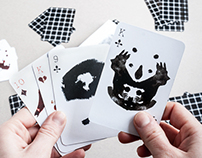 """Crazy game"" – playing cards deck"