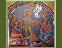 #MURAL: St. St. Kozma & Damyan /Etropole Monastery, BG/