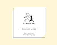 Curcuma Longa-Maison de Waa 薑黃粉包裝設計