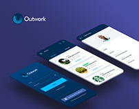 Mobile App Design - Outwork