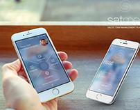 Satmep  ios app - ui design