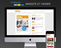 Site MiPadE minisite et viewer