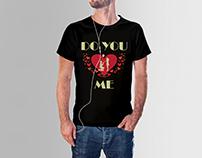 Valentine T Shirt Design