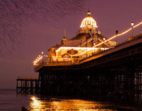 Eastbourne pier : landscape photography