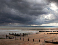 Landscape photography : Shellness storm