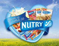 Nutry cereal bar - P.O.P campaing