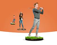 Pitch & Putt - De meest uitdagende activiteiten