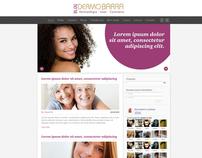 Clínica de Estética Dermobarra - Blog e Fan Page