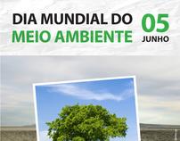 Cartaz para o Dia mundial do Meio Ambiente