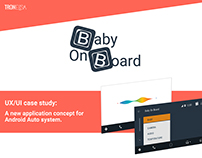 Baby On Board – A new app concept based on Android Auto