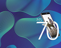 Key Art | Smartphone Multilaser - MS70 Concept