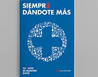 DISEÑO DE CARPETAS Y CATÁLOGOS PARA NUEVA PROMOCIÓN FAR