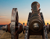 Old Cannon - CG