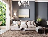 Livingroom New Classic Style