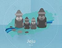 The trip to Jeju