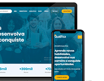 Qualifica Website launch on 6th July 2020