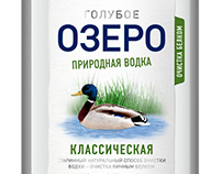 Goluboye Ozero (Blue Lake) Vodka