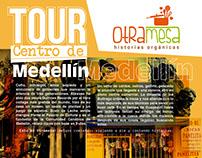 CARTEL: TOUR CENTRO MEDELLÍN - VOCES DE MI CONCIENCIA