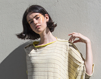 YELLOW ROAD - Knitting Stripe Collection