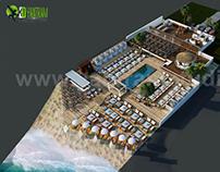 Beach Restaurant Floor Plan Example & Ideas by Yantram