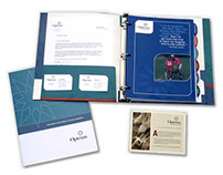 Opteum Financial Services Print Collateral
