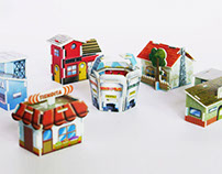 Bimbopolis Tiny City 3D Puzzle