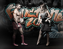 Zone Fitness Center Poster Design
