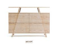 TORII - plywood sideboard