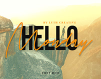 Hello Monday Font Duo