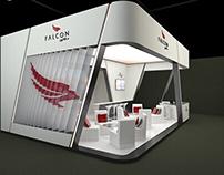 Stand at Airshow Dubai