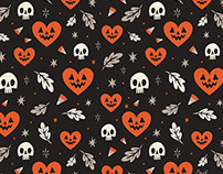 I Heart Fall Pattern