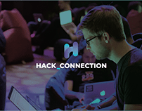 Hack Connection. Branding design.