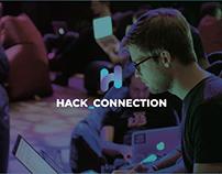 Hack Connection. Branding design.