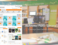 UX Design: Richmond Public Library