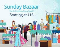 Sunday Bazaar (Paytm)