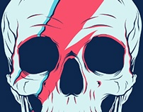 Bowie Skull