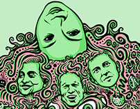 Deerhoof illustration