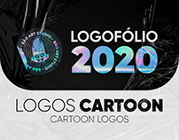 LOGOFÓLIO 2020 - LOGOS CARTOON