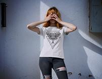 DRAGONFLY T-SHIRT DESIGN YOHUGE CLOTHING