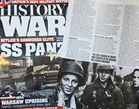 History of War Magazine Feature Article May 2018